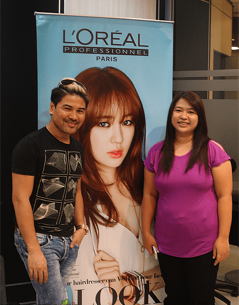 L'Oreal Professionnel's The V Look