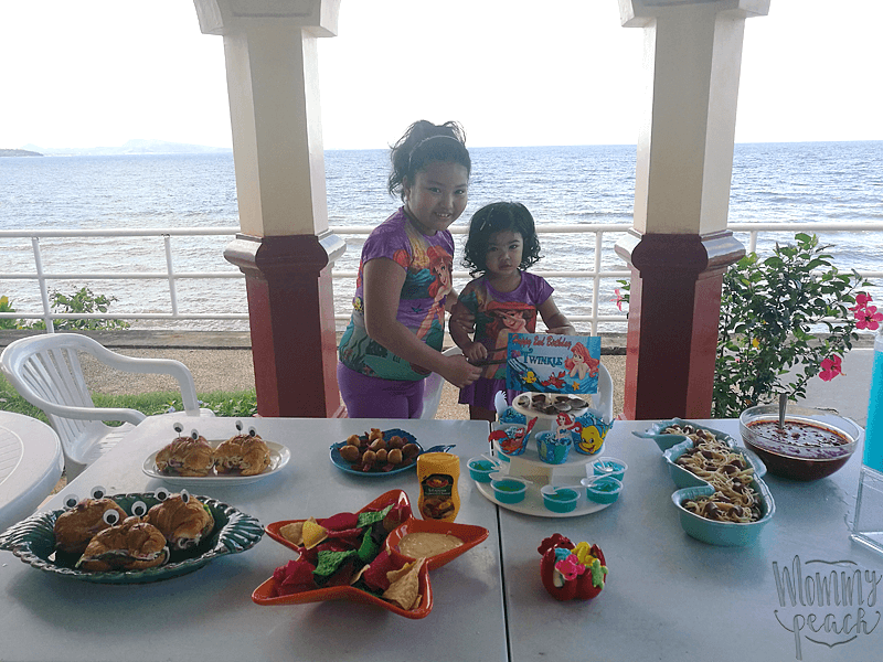 Twinkle's 2nd Birthday Mermaid Party at Tali Beach