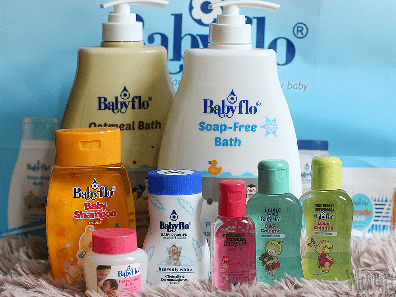 Let Love Flow with Babyflo Soap-Free Bath