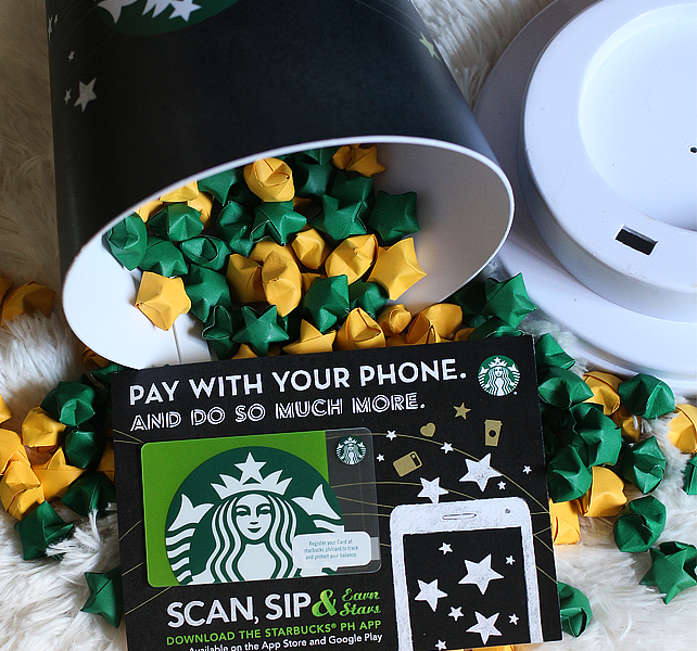 Scan, Sip and Earn Stars with the new Starbucks PH App