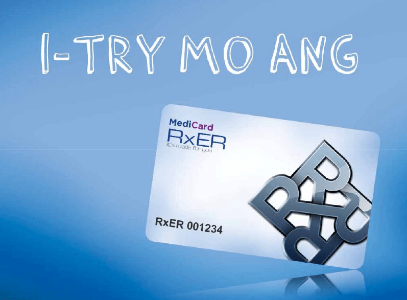 Buy 1 Take 1 on Medicard RXER Prepaid Health Card