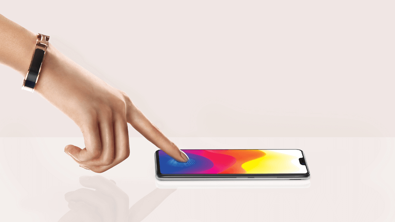 In-Display Fingerprint Scanning Technology with Vivo X21