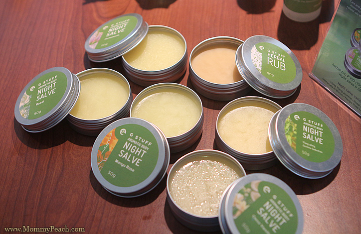 G Stuff Salve and Herbal Rub