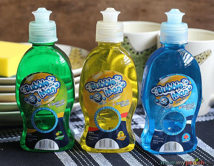 Bubbleman Dishwashing Liquid