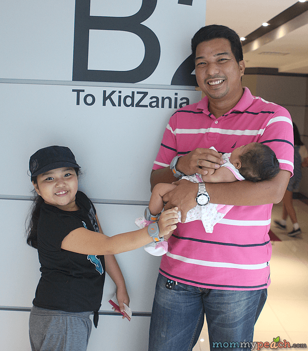Ykaie at KidZania Manila