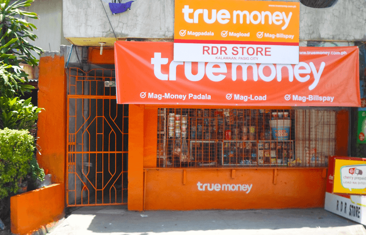 TrueMoney Builds Large Network & Offers Low-Cost Money Remittances