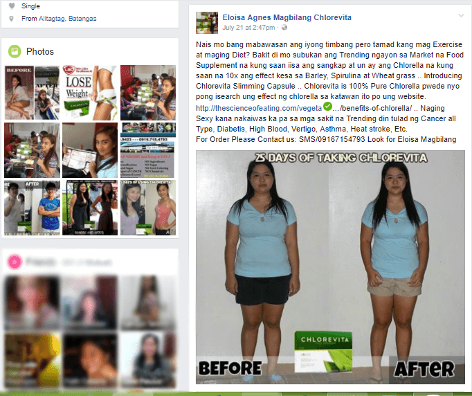 My Before and After Photo Was Used To Sell Chlorevita