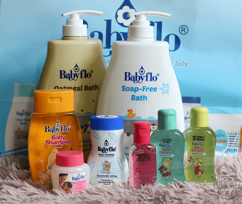 Let the Love Flow with Babyflo Soap-Free Bath