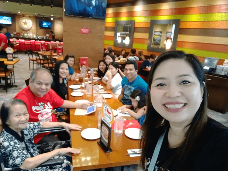 Nanay's Birthday Lunch at Chili's