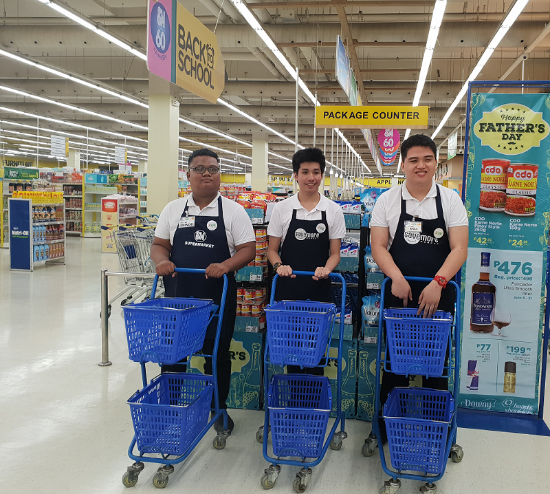 Persons with Autism Learn Life Skills at SM Supermarket