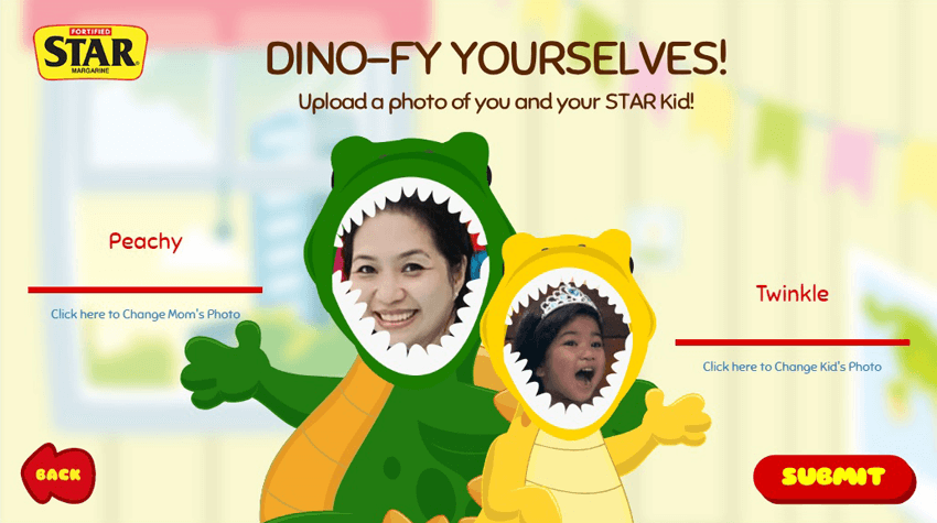 #MyStarKidAdventure with Twinkle and Star Margarine App