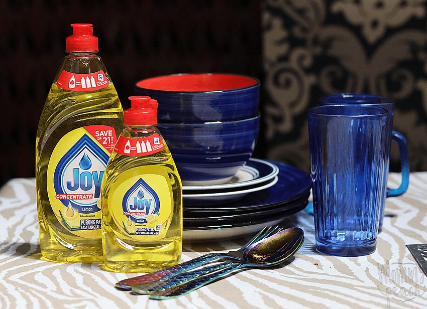 #ZeroWorries Kitchen Days With Joy Dishwashing Liquid