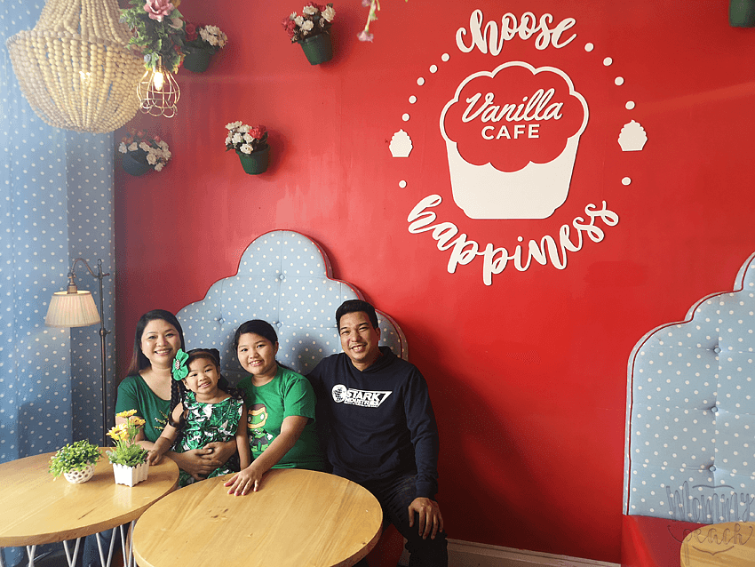 Buffet Lunch at Vanilla Cupcake Bakery, Mother Ignacia
