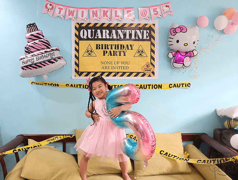 Twinkle's Hello Kitty Quarantine Birthday Party